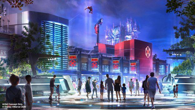 Avengers Campus Concept Art ©Disney